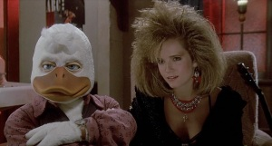 Howard the Duck and Lea Thompson