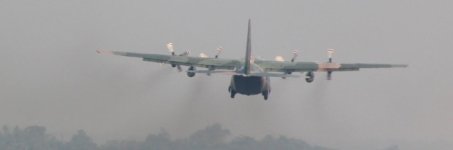 An RSAF C-130 Hercules takes off from Kalaikunda at the end of Joint Military Training with IAF-777210 2.jpg